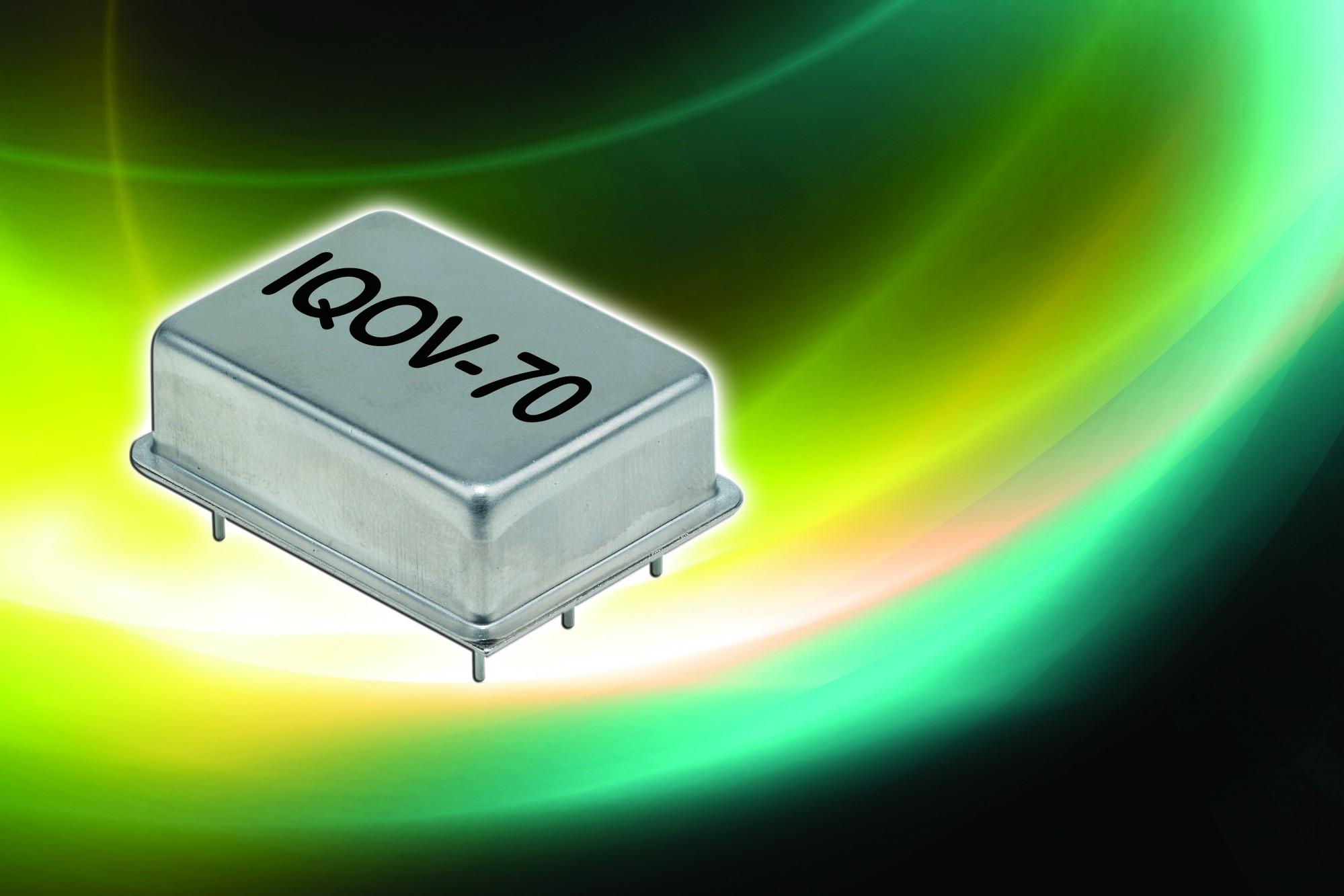 IQD präsentiert auf der Embedded World 2013 neue, hochstabile OCXOs