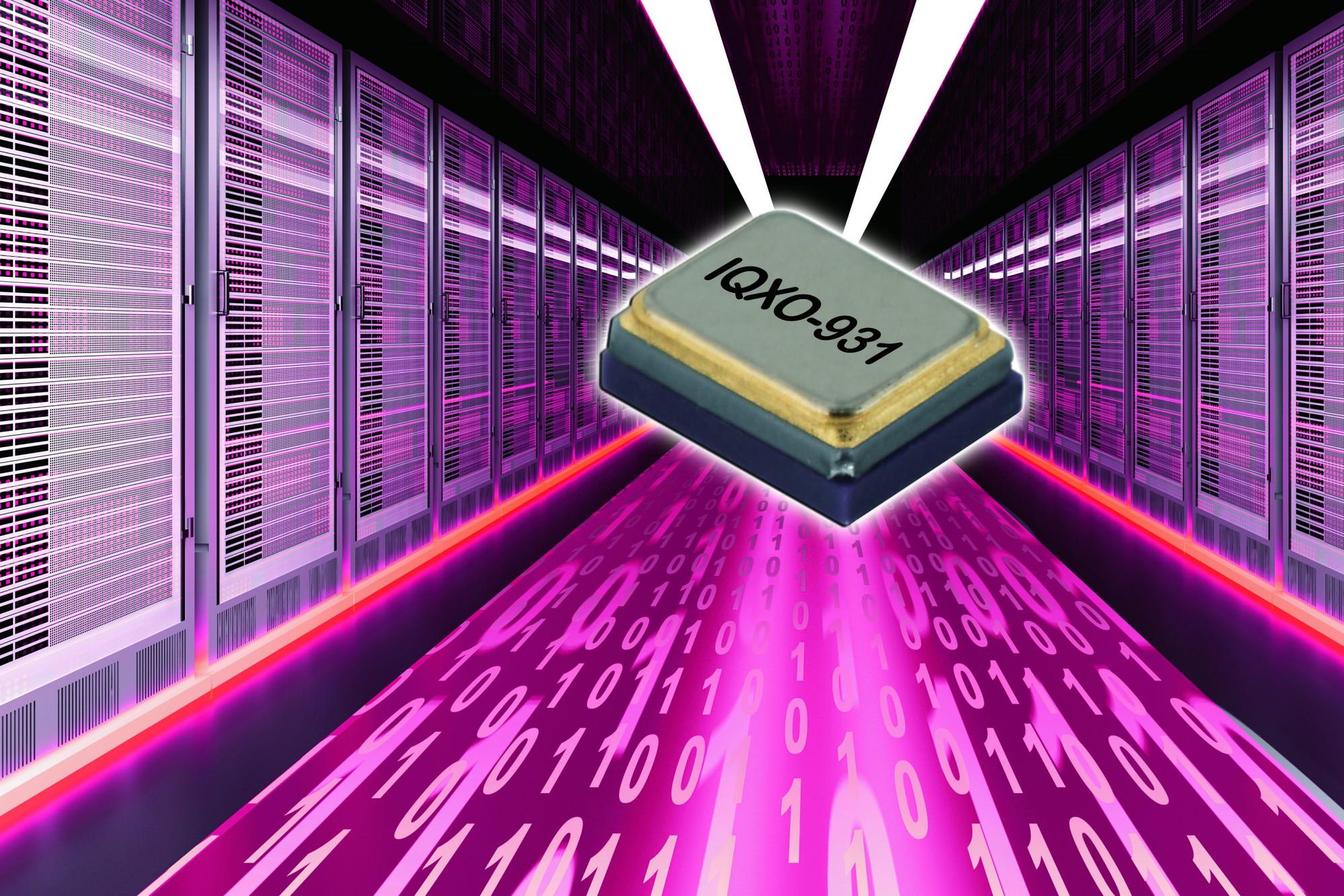 IQD bringt neuen Hochfrequenz-Oszillator mit geringem Jitter auf den Markt