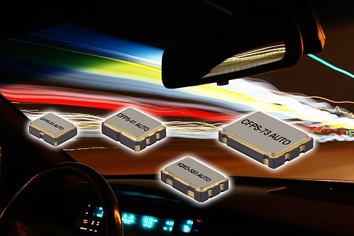 New range of Automotive Clock Oscillators to AEC-Q200 & TS16949