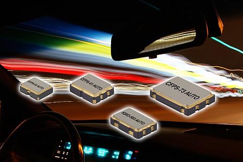 New range of Automotive Clock Oscillators to AEC-Q200 & TS16949