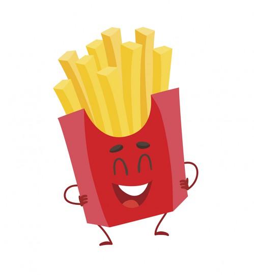 Chips mit allem!
