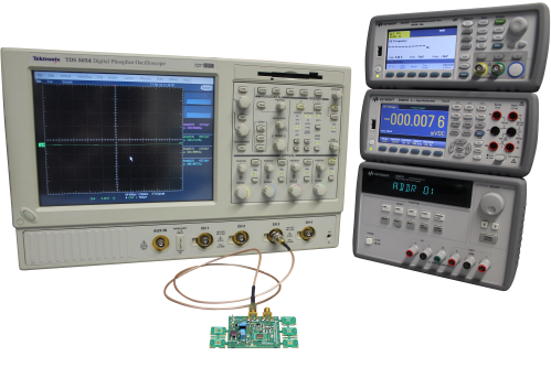 New Evaluation Board for Standard Oscillators with Test Equip