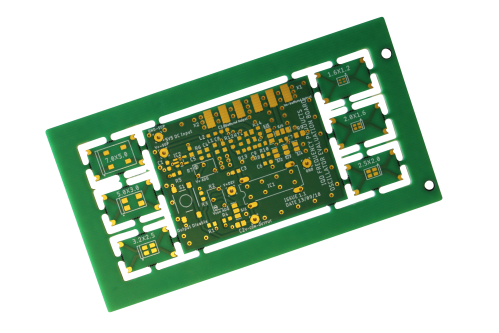 New Evaluation Board for Standard Oscillators Unpopulated