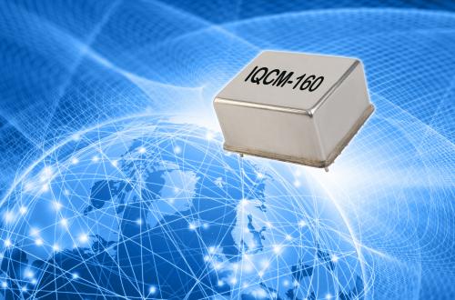 Markteinführung des neuen, größenreduzierten disciplined OCXO von IQD bei der Embedded World