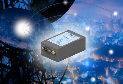 IQRB-3: low noise rubidium oscillator with 1 PPS input/output