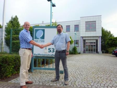 Major investment in IQD FOQ GmbH by leading Asian frequency products manufacturer Hong Kong X'tals Ltd